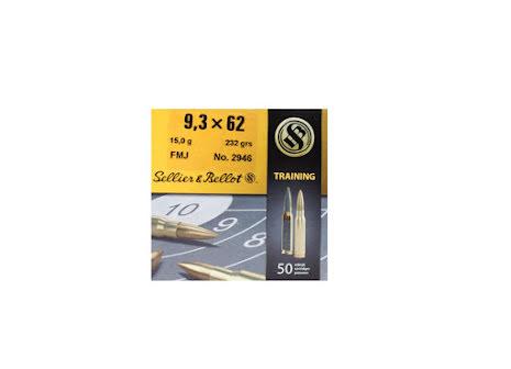 Sellier & Bellot 9,3x62 FMJ 232gr
