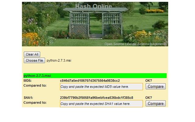Hash Online