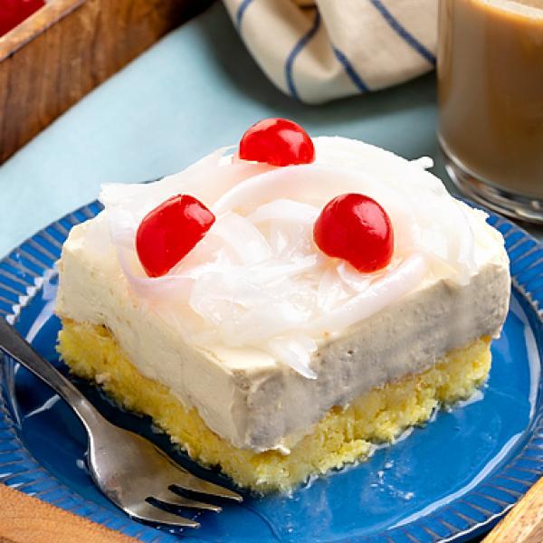 family desserts creamy macaroon ref cake