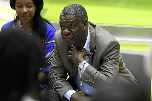Dr Denis Mukwege, who has put his life on the line to help victims of sexual violence in strife-torn eastern DR Congo, is an example of what men can do to help women in distress.