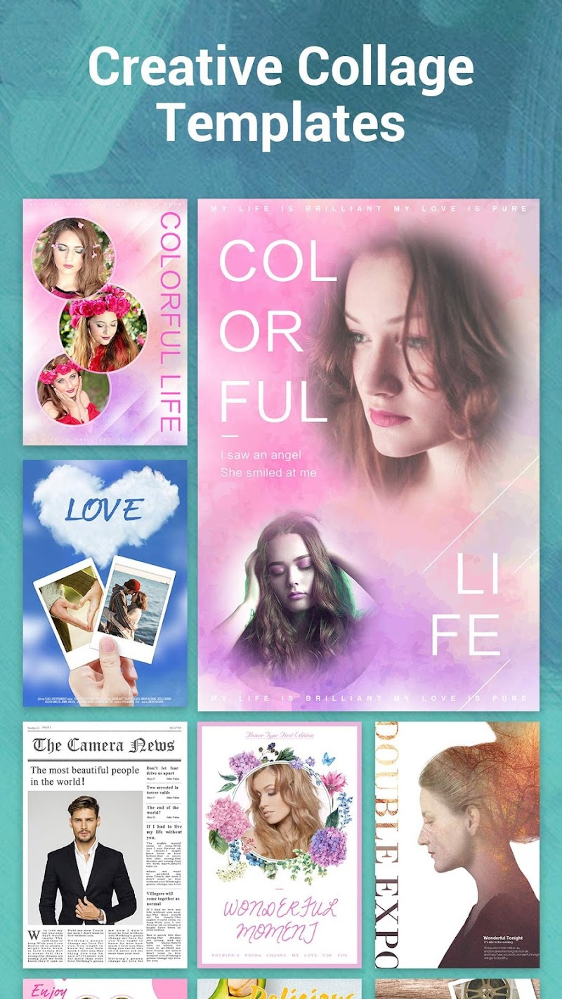 S Photo Editor - Collage Maker, Photo Collage Screenshot 6