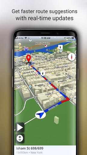 GPS Offline Maps, Directions screenshot 4