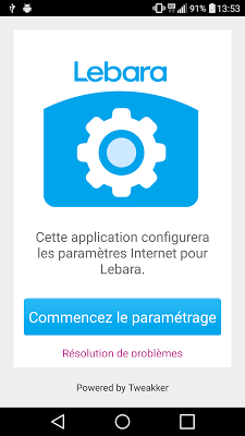 Lebara APN France - screenshot