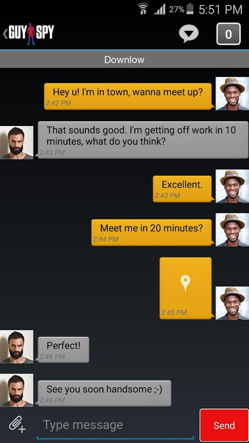 gay chat android