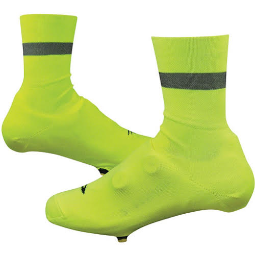 DeFeet Slipstream D-Logo Reflective Shoe Covers - 4 inch