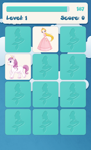 Princess memory game for kids- screenshot thumbnail