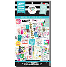 Me & My Big Ideas Happy Planner Sticker Value Pack - Quotes