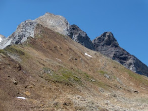 Photo: Petite et Grand Vignemale dal passo d'Hourquette d'Ossue, 2734m.