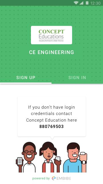 Concept Educations - Engineering, JEE Main- screenshot