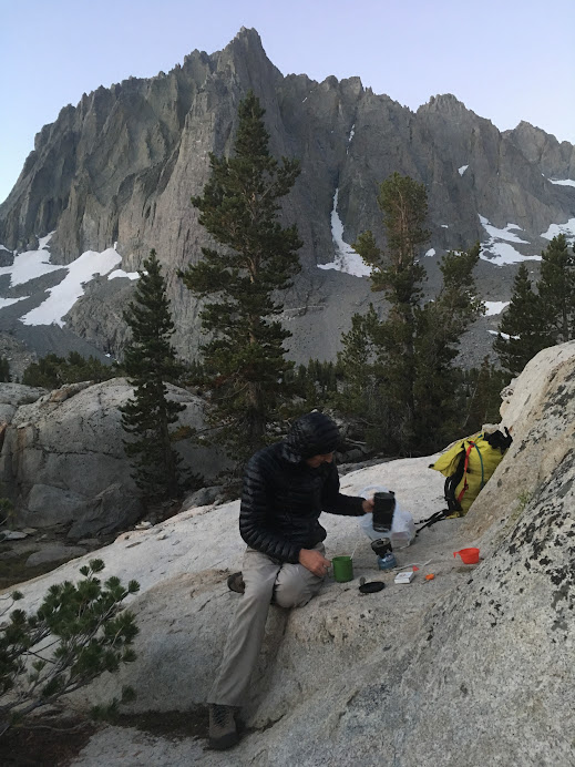 Camping in Temple Crag, CA
