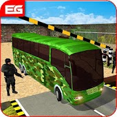 Military Bus Driver : Transporter Game 2018