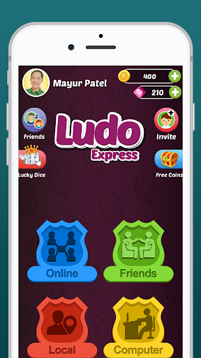 Ludo Express - Online Ludo Game 2020 King Of Star screenshots 1