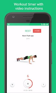7-Minute Workouts -Daily Fitness with No Equipment 1.3.11 MOD + APK + DATA Download 3