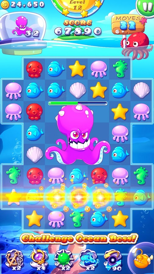 Ocean Mania- screenshot
