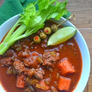 Bloody Mary Beef Goulash.
