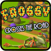 Crazy Crossing Frog