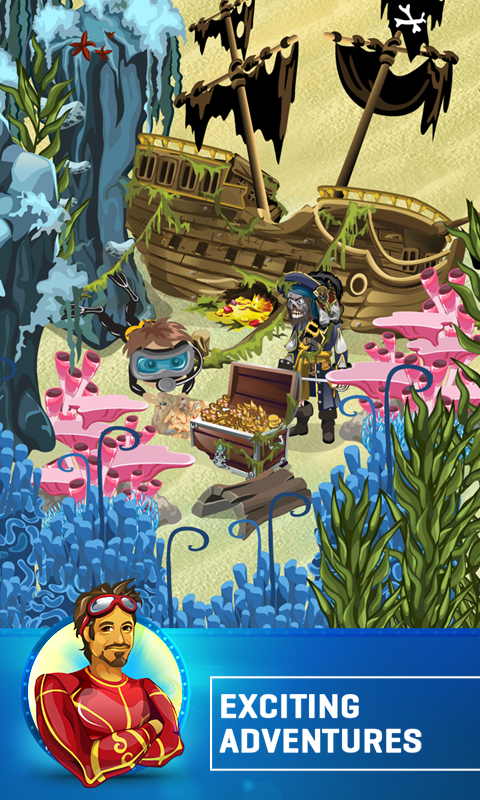 Treasure Diving- screenshot