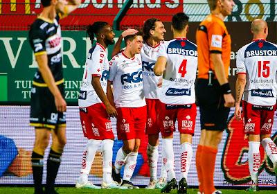 KV Kortrijk ondanks drie afgekeurde doelpunten voor zesde keer op rij voorbij Zulte Waregem na beladen en sfeervolle derby