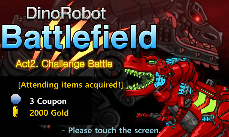 Dino Robot Battle Field v3.4.0 (Mod)