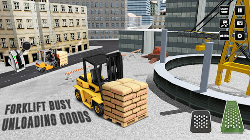 City Construction Simulator: Forklift Truck Game modavailable screenshots 20