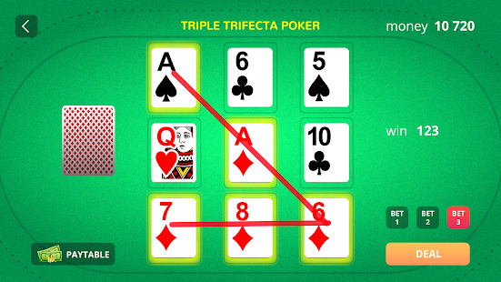 Triple Trifecta Poker - náhled