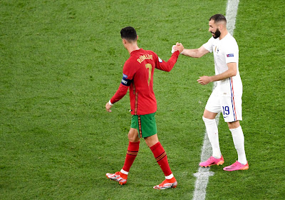 Benzema dévoile son échange avec Cristiano Ronaldo