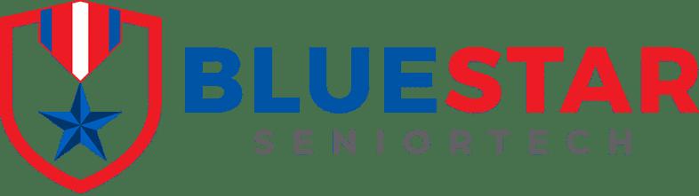 BlueStar SeniorTech Logo