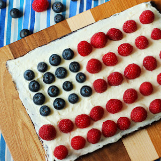 4th of July Brownie Tart Recipe
