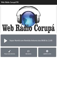 Web Rádio Corupá FM- screenshot thumbnail