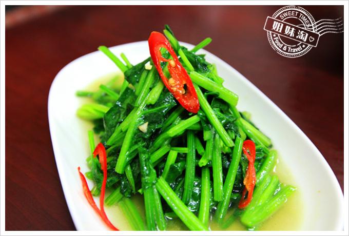 京城羊肉炒菠菜