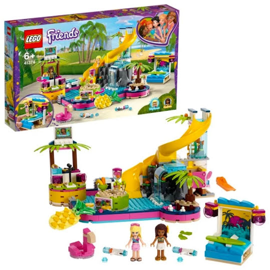 Lego Friends - Andrea's  poolparty 41374