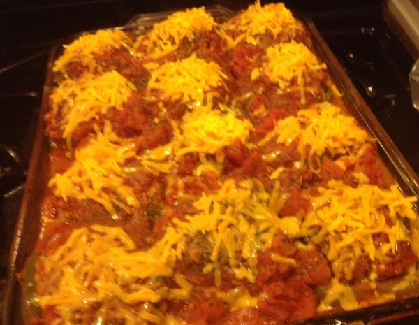 Stuffed Peppers With Italian & Cheddar Cheese Recipe