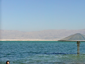 Photo: The Dead Sea is both the saltiest water on earth and the lowest point on the planet.