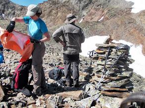 Photo: Dernière pause avant les sommets