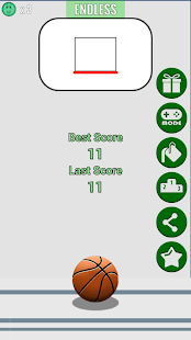 Fling Hoops Screenshot