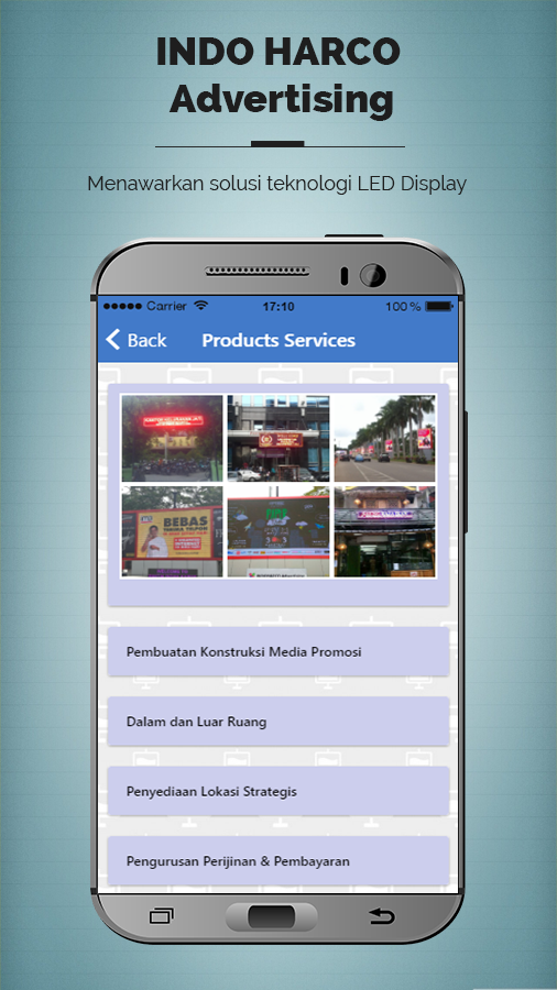 Indoharco Advertising- screenshot