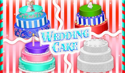 Wedding Cake Maker Girls Cooking Game apktram screenshots 10