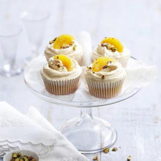 Tangerine Cupcakes.
