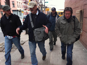 Photo: Rushing to Diner's