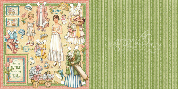 Mothers and Daughters, Penny's Paper Doll Family, Graphic 45.png