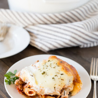 Baked Ziti With Ground Beef Recipes