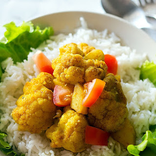 Cauliflower Potato Curry.