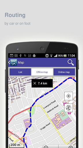 圣地亚哥离线地图|玩旅遊App免費|玩APPs