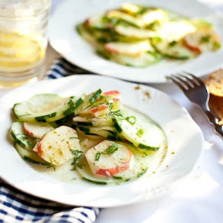 Apple-cucumber Salad