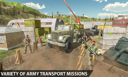 Dirt Road Army Truck 2 1.0.1 screenshots 1