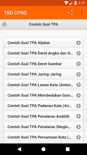 2020 Kunci Soal Tkd Cpns Android App Download Latest