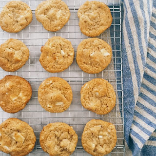 The Best Brown Butter White Chocolate Macadamia Cookies.