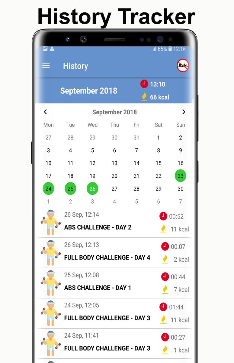 Home Workouts Gym Pro (No ad) Screenshot 6