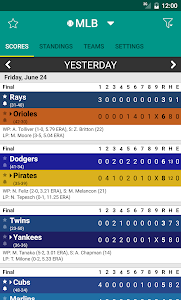 Sports Scores screenshot 2