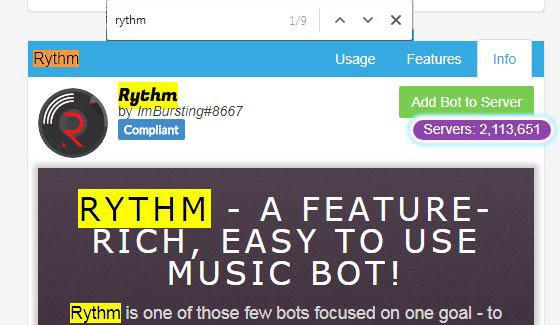 Discord Bots Rythm - Woonkamer decor ideeën - kafkasfan club